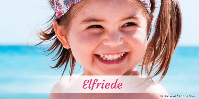 Name Elfriede als Bild