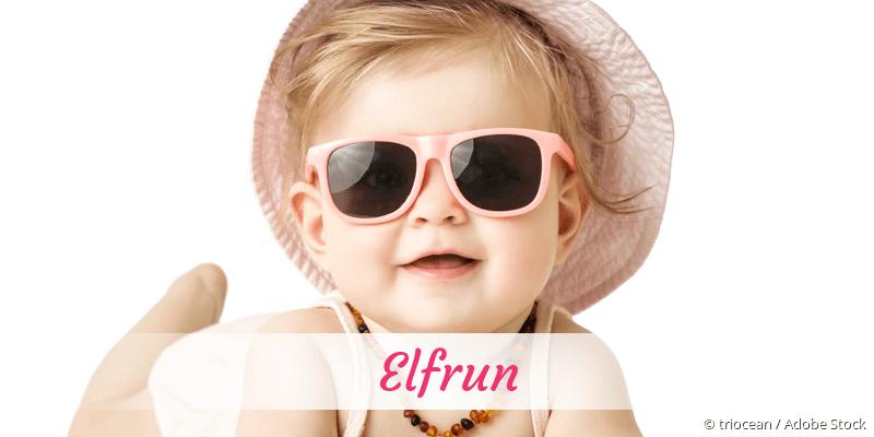 Name Elfrun als Bild