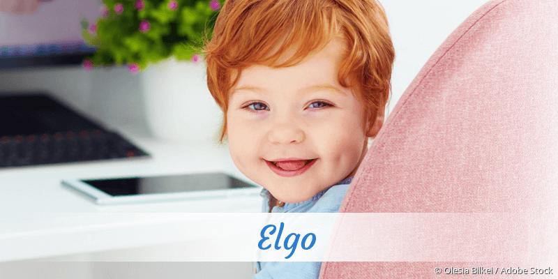 Name Elgo als Bild