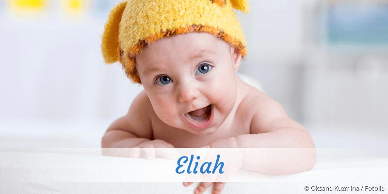 Name Eliah als Bild
