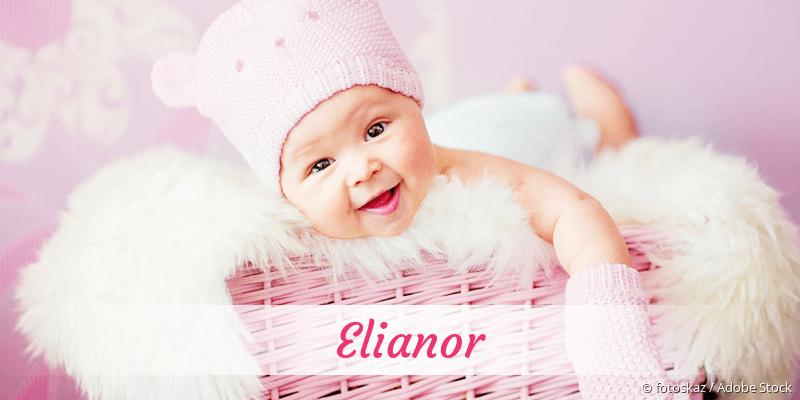 Name Elianor als Bild