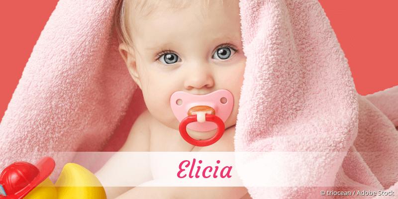 Name Elicia als Bild