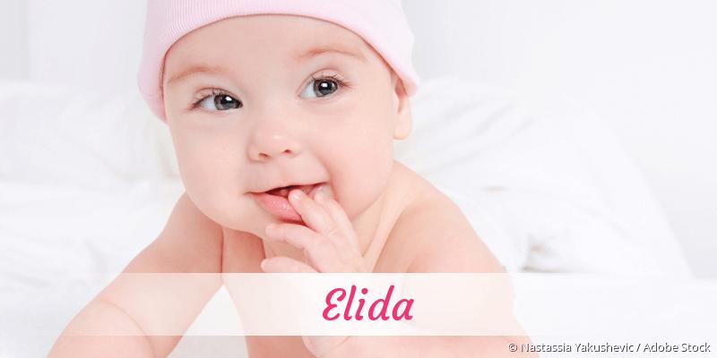 Name Elida als Bild
