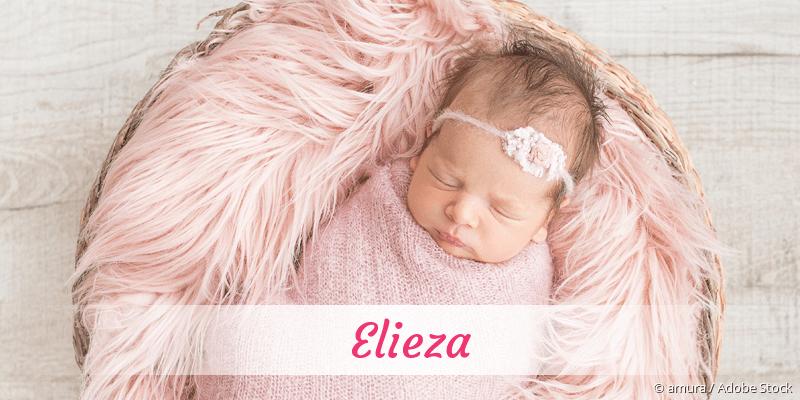 Name Elieza als Bild