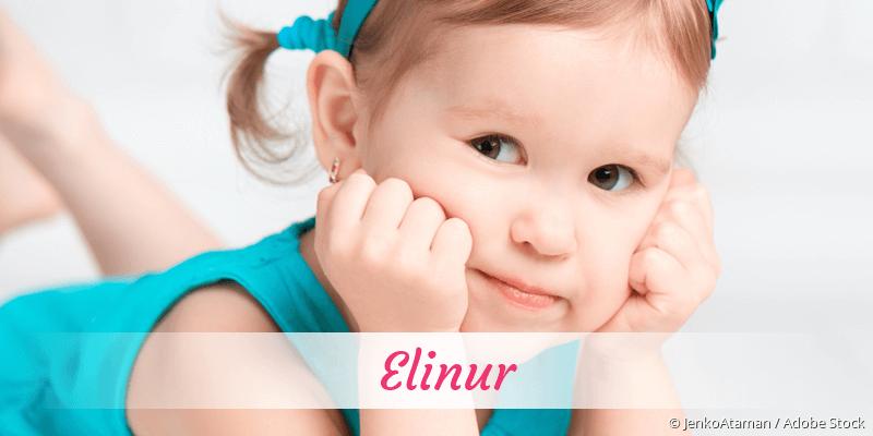 Name Elinur als Bild