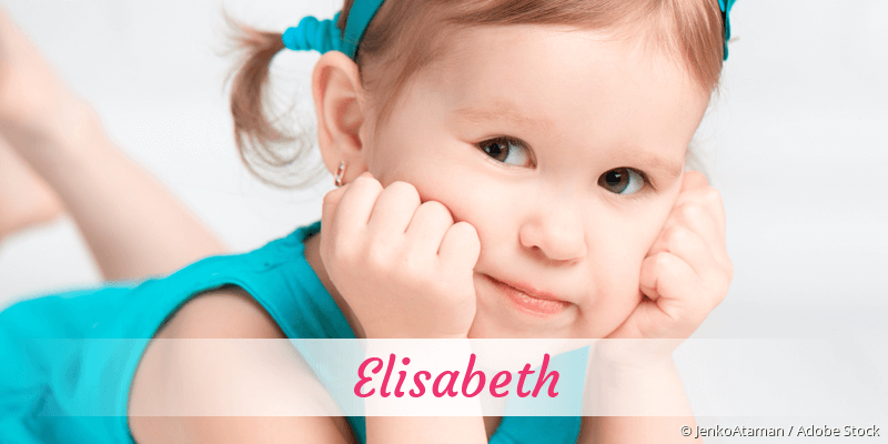Name Elisabeth als Bild