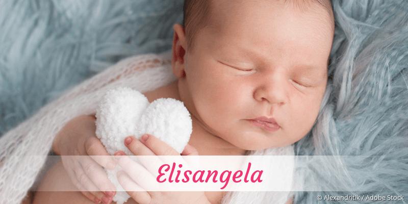 Name Elisangela als Bild