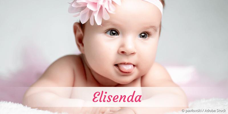 Name Elisenda als Bild