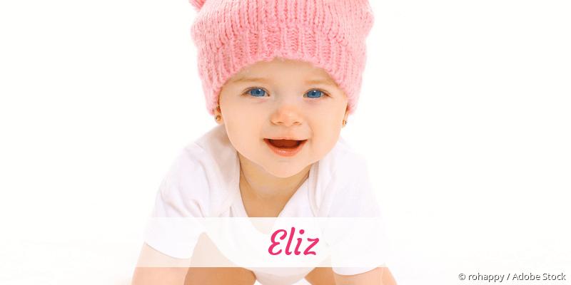 Name Eliz als Bild