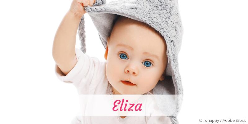 Name Eliza als Bild