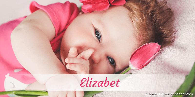 Name Elizabet als Bild