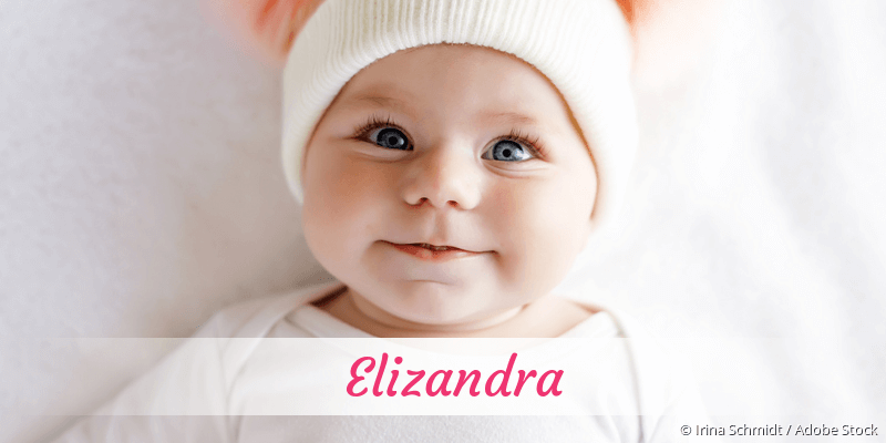 Name Elizandra als Bild
