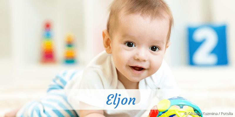 Name Eljon als Bild