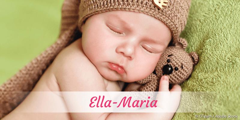 Name Ella-Maria als Bild