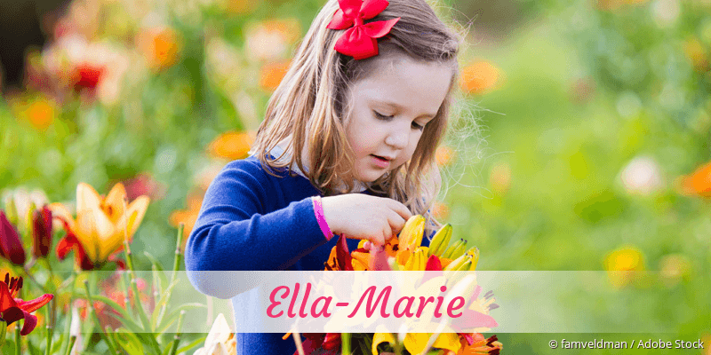 Name Ella-Marie als Bild