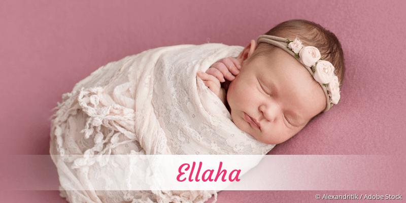 Name Ellaha als Bild
