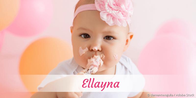 Name Ellayna als Bild