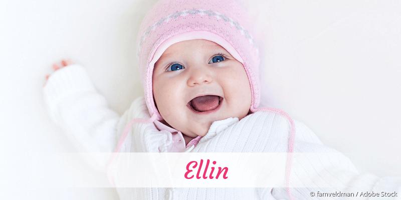 Name Ellin als Bild
