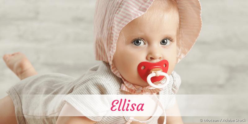 Name Ellisa als Bild