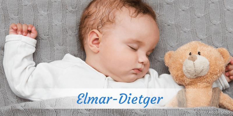 Name Elmar-Dietger als Bild