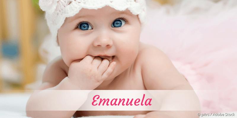 Name Emanuela als Bild