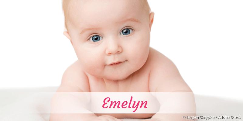 Name Emelyn als Bild