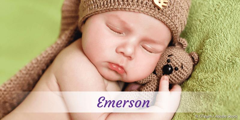 Name Emerson als Bild