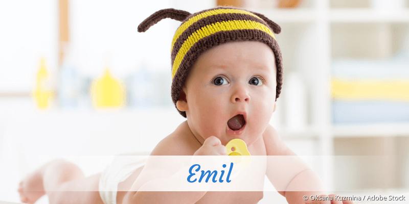 Name Emil als Bild