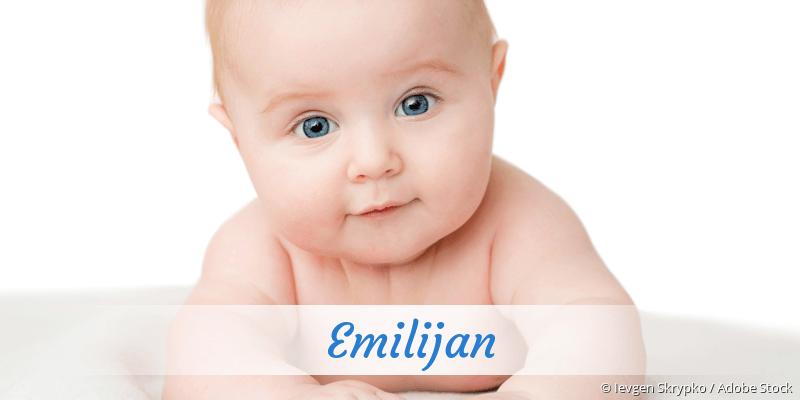 Name Emilijan als Bild
