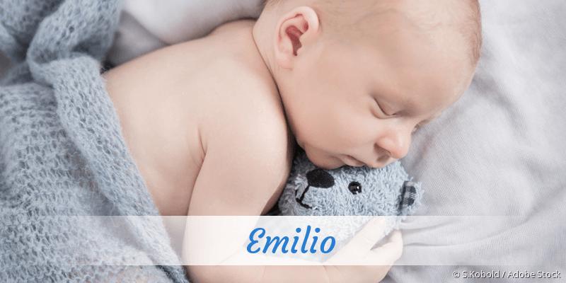 Name Emilio als Bild