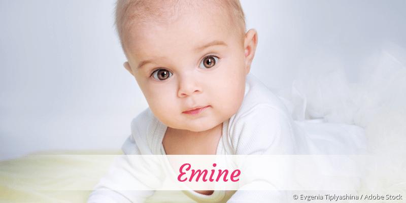 Name Emine als Bild