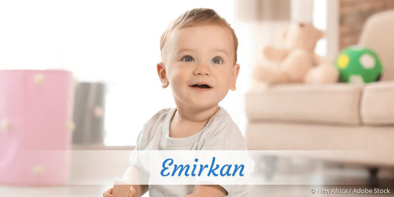 Name Emirkan als Bild