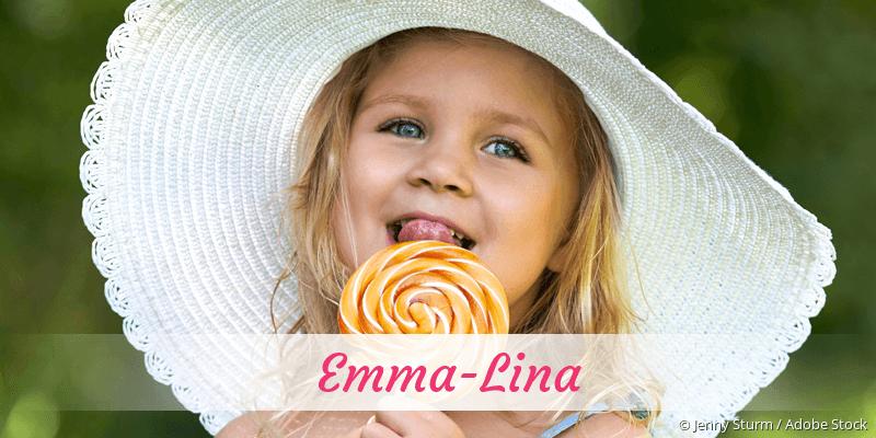 Name Emma-Lina als Bild