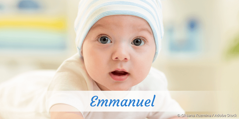 Name Emmanuel als Bild