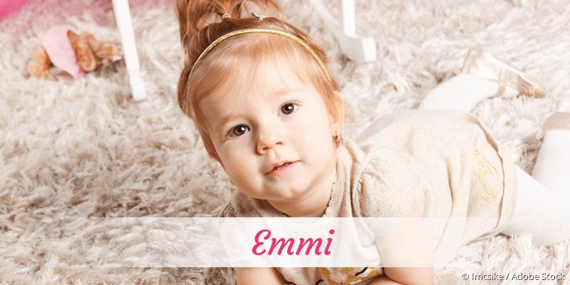 Name Emmi als Bild