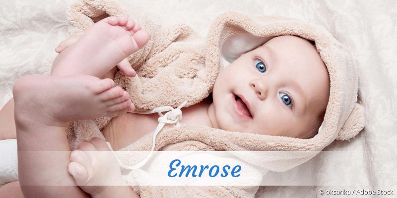 Name Emrose als Bild