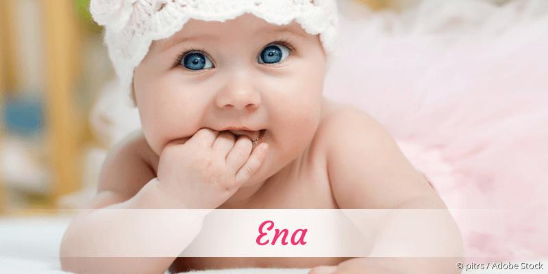 Name Ena als Bild