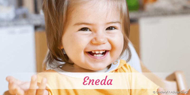 Name Eneda als Bild
