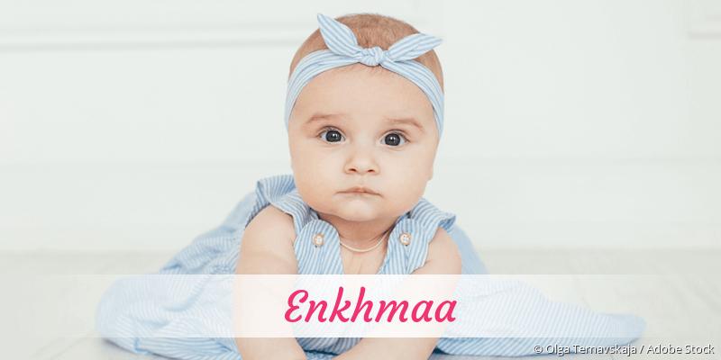 Name Enkhmaa als Bild
