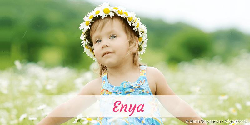 Name Enya als Bild
