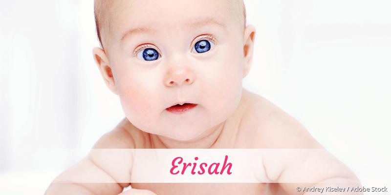Name Erisah als Bild