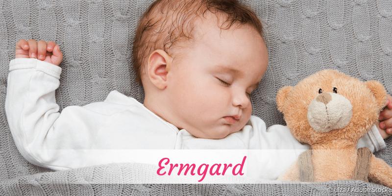 Name Ermgard als Bild