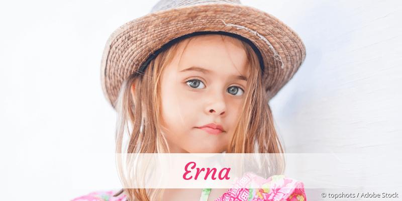Name Erna als Bild
