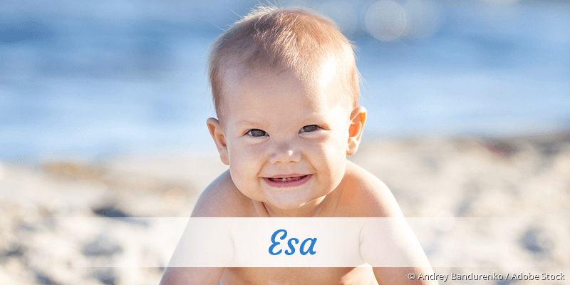 Name Esa als Bild