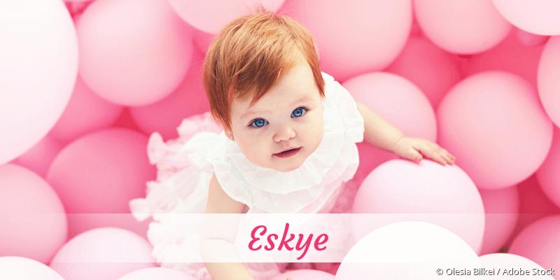 Name Eskye als Bild