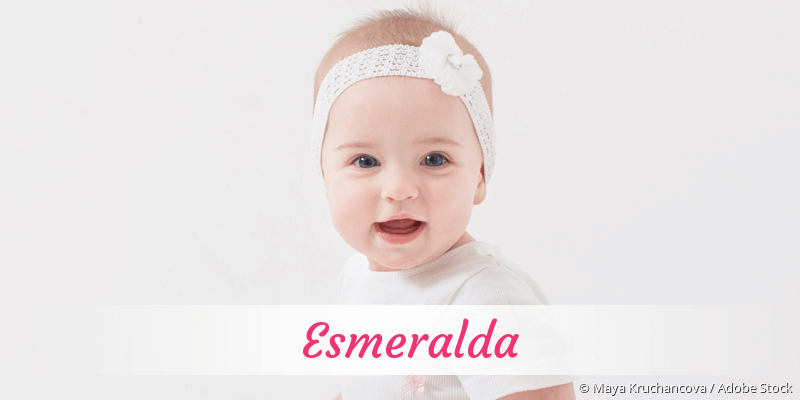Name Esmeralda als Bild