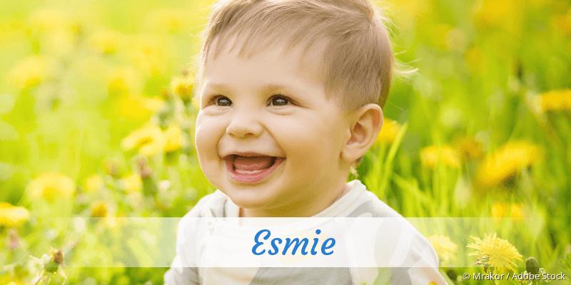 Name Esmie als Bild