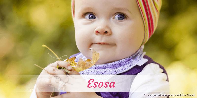 Name Esosa als Bild