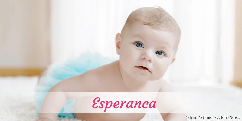 Name Esperanca als Bild