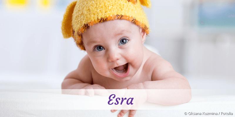 Name Esra als Bild